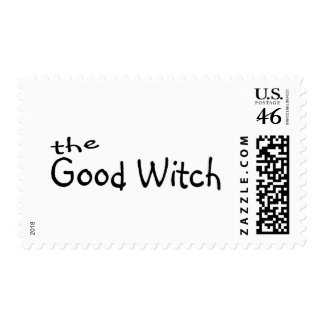 The Good Witch Postage Stamp