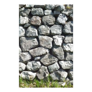 The goods which will get over the stone wall stationery