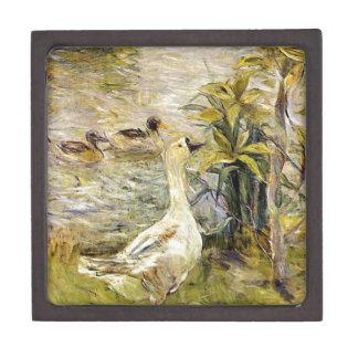 The Goose by Berthe Morisot Keepsake Box