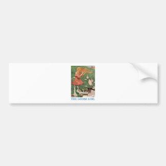 The Goose Girl Bumper Sticker
