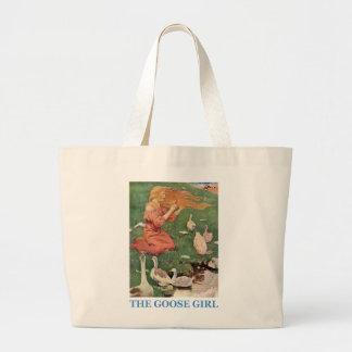 The Goose Girl Large Tote Bag