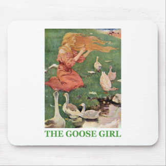The Goose Girl Mouse Pad