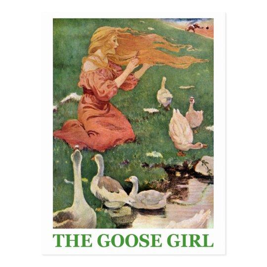 The Goose Girl Postcard