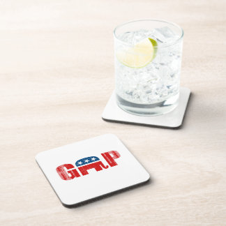 THE GOP Faded.png Beverage Coasters