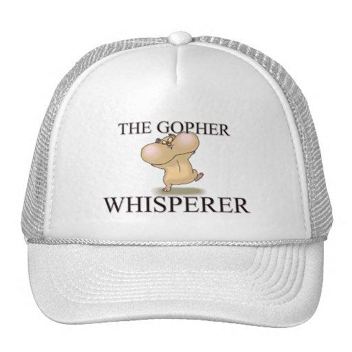 The Gopher Whisperer Trucker Hats