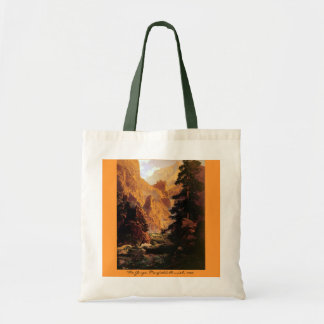 The Gorge, 1920 Canvas Bags