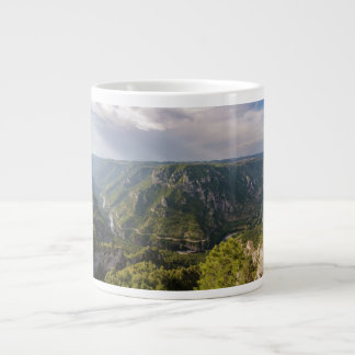 The Gorges du Tarn Canyon Southern France Large Coffee Mug