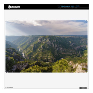 The Gorges du Tarn Canyon Southern France Skin For The MacBook Air