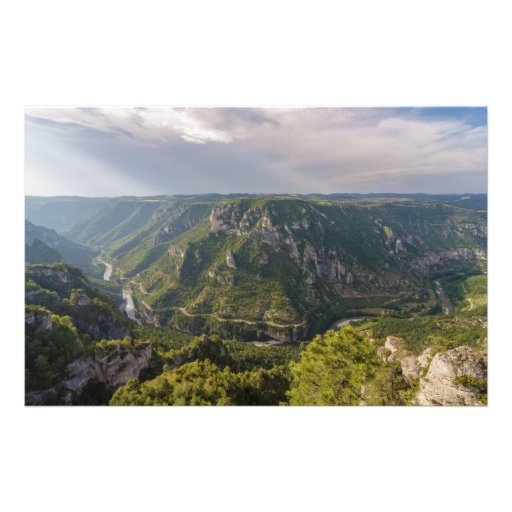 The Gorges du Tarn Canyon Southern France Customized Stationery