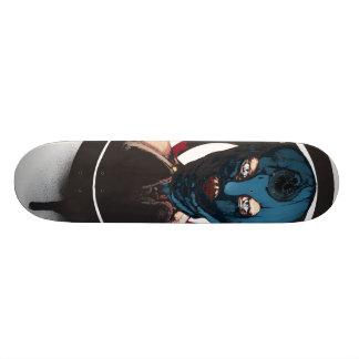 The gorgon skateboard deck