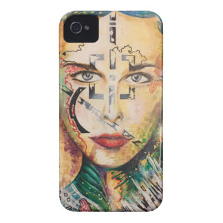 The Gorgons 24%22 x 30%22 (3) Mixed Media .jpg Case-Mate iPhone 4 Case