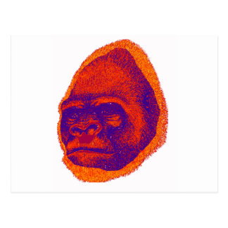 THE GORILLA 3D POSTCARD