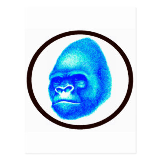 THE GORILLA SKY POSTCARD