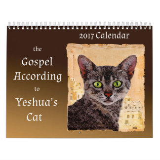 The Gospel According to Yeshua's Cat Calendar 2017