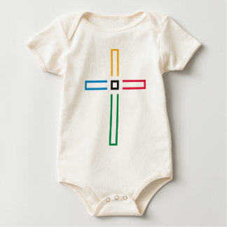 The Gospel Cross Baby Bodysuit