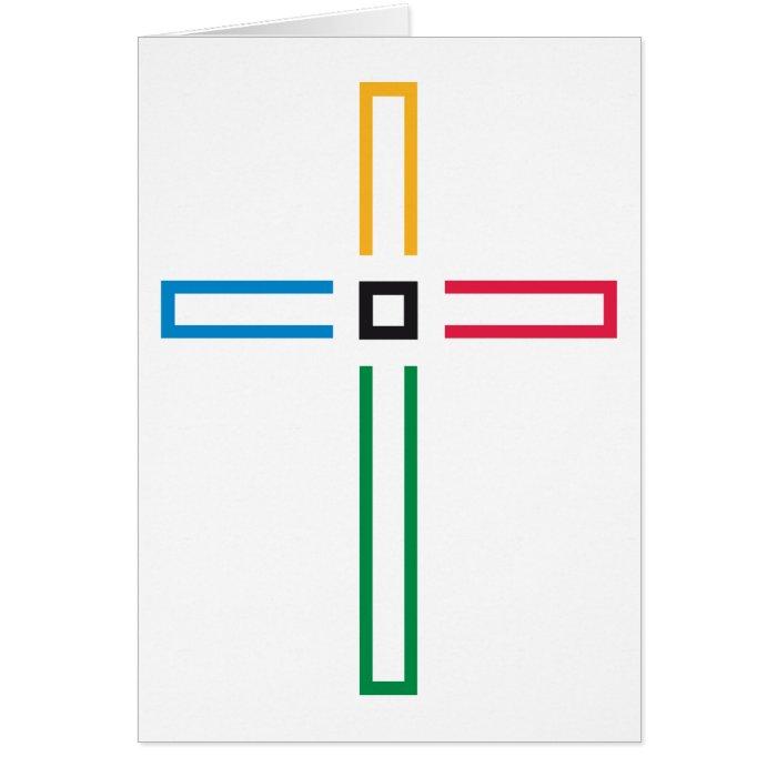 The Gospel Cross Card