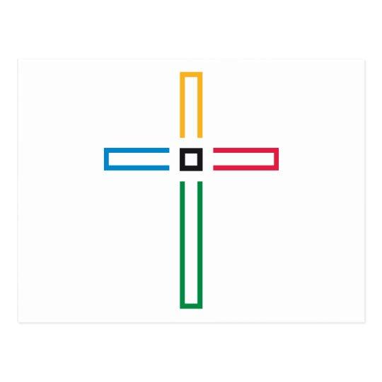 The Gospel Cross Postcard