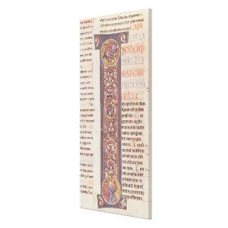 The Gospel of St. Mark Canvas Print