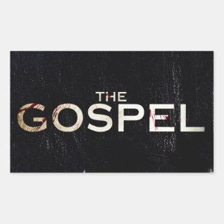 The gospel rectangle stickers