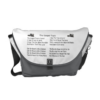 THE GOSPEL TRAIN-MESSENGER BAG