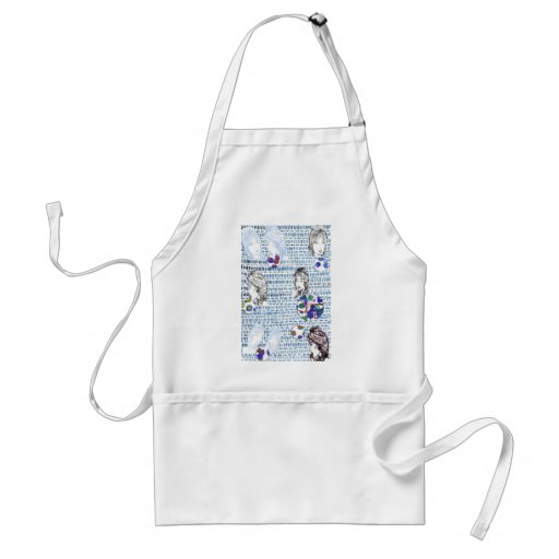 The Gossip, the scandal, oooh! apron