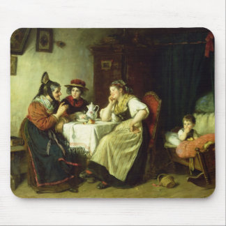 The Gossips, 1887 Mouse Pad