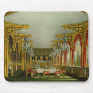 The Gothic Dining Room at Carlton House from Pyne' Mouse Pad