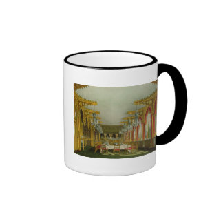 The Gothic Dining Room at Carlton House from Pyne' Ringer Coffee Mug