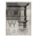 The Gothic Entablature Posters
