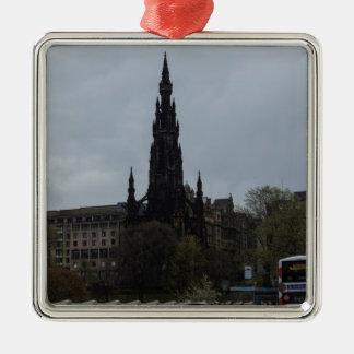 The Gothic Scott Monument in Edinburgh Christmas Ornaments