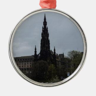 The Gothic Scott Monument in Edinburgh Ornament