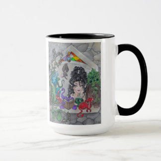 """The Gothic Window"" Fairy Cup Mug"