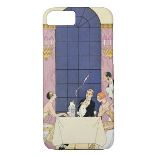 The Gourmands, 1920-30 (pochoir ) iPhone 8/7 Case