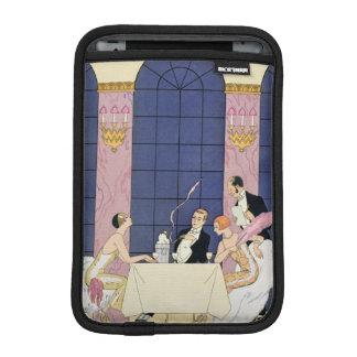 The Gourmands, 1920-30 (pochoir print) Sleeve For iPad Mini