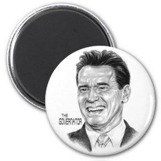 The Governator Refrigerator Magnets