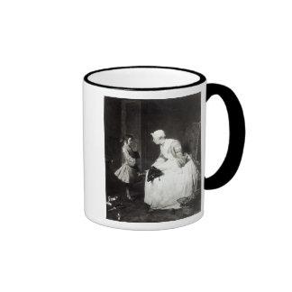 The Governess, 1739 Ringer Coffee Mug