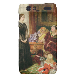 The Governess 1860 oil on canvas Motorola Droid RAZR Cover