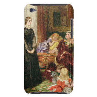 The Governess 1860 oil on canvas iPod Case-Mate Cases
