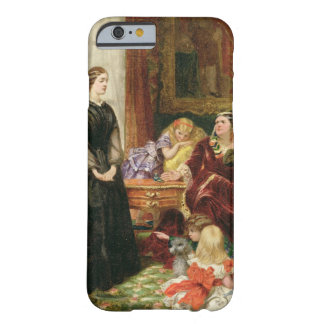 The Governess 1860 oil on canvas iPhone 6 Case