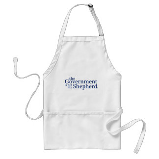 The Government Not My Shepherd. Adult Apron