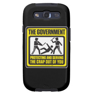 The Government Protecting And Serving Galaxy S3 Case