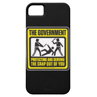 The Government Protecting And Serving iPhone 5 Case