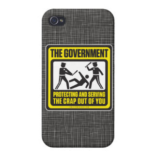 The Government Protecting And Serving iPhone 4 Covers