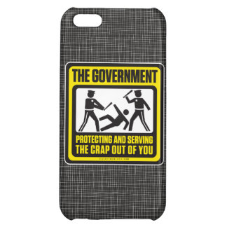 The Government Protecting And Serving Cover For iPhone 5C