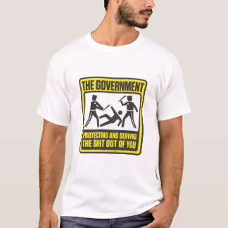 The Government Protecting And Serving Shirt