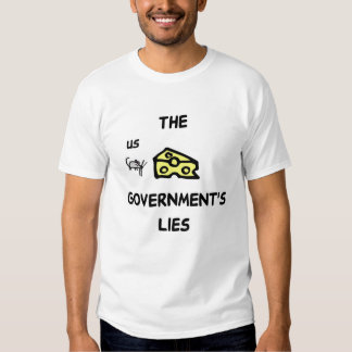 The Governmental Cheese Block T Shirt