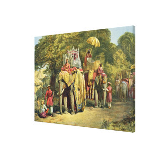 The Governor-General's State Howdah, 1863 (chromol Canvas Prints