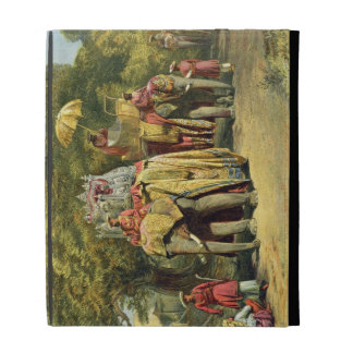 The Governor-General's State Howdah, 1863 (chromol iPad Case