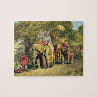 The Governor-General's State Howdah, 1863 (chromol Jigsaw Puzzle