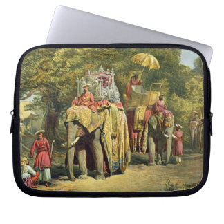 The Governor-General's State Howdah, 1863 (chromol Laptop Sleeve